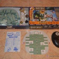 Juegos de mesa: JUEGO ANGRY BIRDS STAR WARS JENGA DEATH STAR COMPLETO PM. Lote 50441162