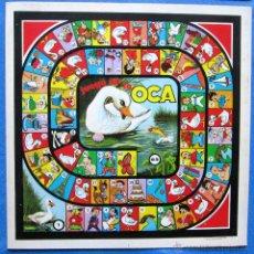 Juegos de mesa: CARTÓN DE JUEGO OCA + CARTÓN DE JUEGO PARCHIS. ESTAMPAS DE ESPAÑA, SIN FECHA.. Lote 50453552