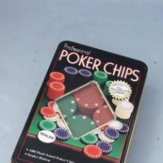 Juegos de mesa: POKER CHIPS PROFECIONAL. 100 FICHAS.. Lote 50548895