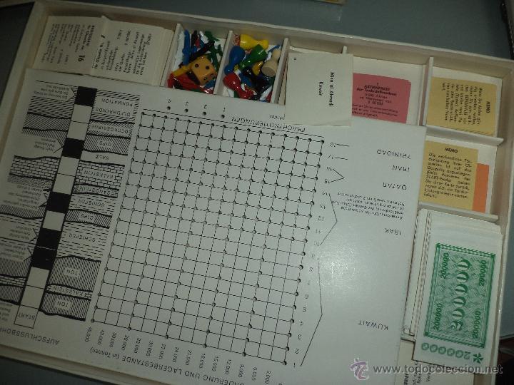 Juegos de mesa: ÖL FÚR UNS ALLE.Petroleo para todos.1960 Gérmany.Otto Maier Veriag.Ravensburg. - Foto 5 - 50555296