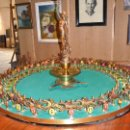 Juegos de mesa: RULETA DE JUEGO ANTIGUA. Lote 18154345