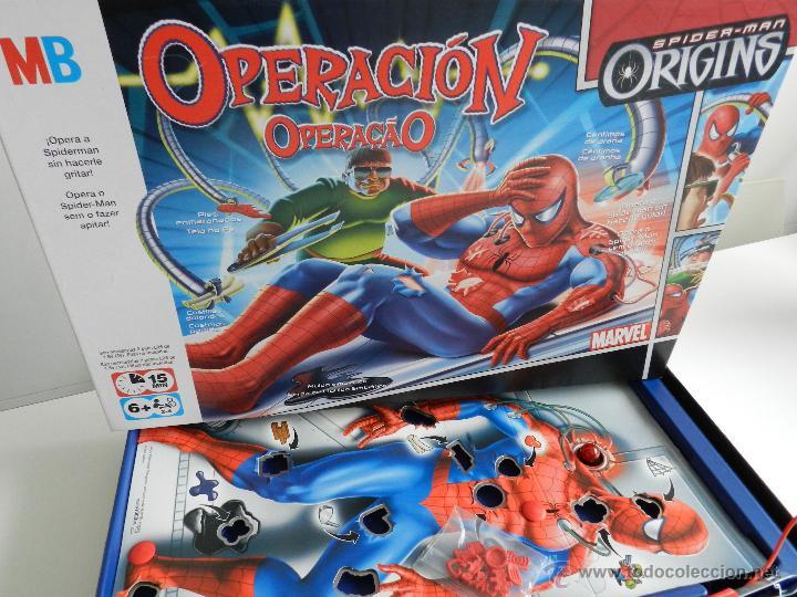 operacion de mb spiderman origins  Comprar Juegos de mesa
