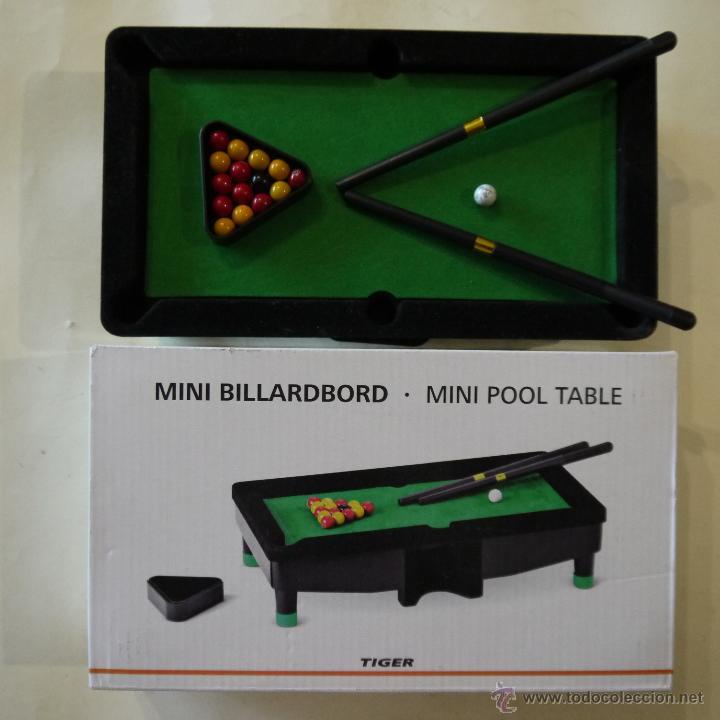 Mini Billardboard Tiger Comprar Juegos De Mesa Antiguos En
