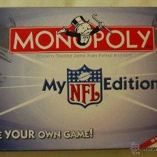 Juegos de mesa: MONOPOLY MY NFL EDITION - PARKER - 2006 - JUEGO NUEVO Y COMPLETO EN INGLES. Lote 50756083