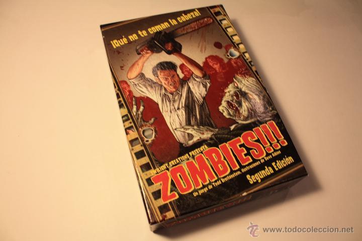 Juego De Mesa Zombies Comprar Juegos De Mesa Antiguos En