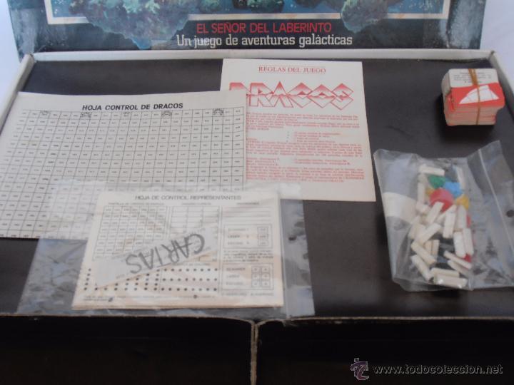 Juegos de mesa: JUEGO DRACOS EL SEÑOR DEL LABERINTO DE CEFA COMPLETO AÑOS 80 - Foto 6 - 50898315