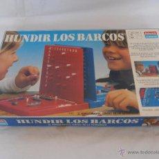 Juegos de mesa: JUEGO HUNDIR LOS BARCOS FALOMIR. Lote 50903855
