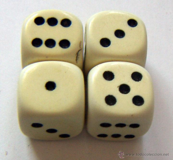 4 Viejos Dados Comprar Juegos De Mesa Antiguos En Todocoleccion