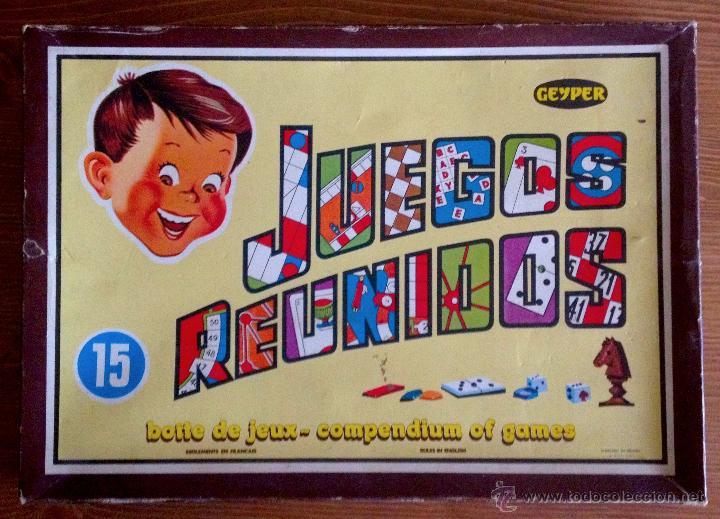 Juegos Reunidos Geyper 15 Comprar Juegos De Mesa Antiguos En