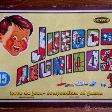 Juegos de mesa: JUEGOS REUNIDOS GEYPER 15. Lote 50987468
