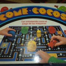 Juegos de mesa: MB COME COCOS 1980.PACK MAN GAME.FABRICADO EN ESPAÑA EN 1983.. Lote 51006701