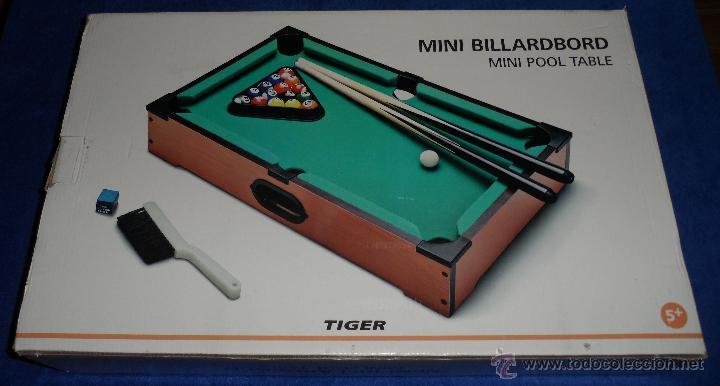 Mini Billar Tiger Comprar Juegos De Mesa Antiguos En