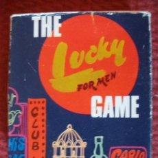 Juegos de mesa: JUEGO DE MESA LUCKY FOR MEN THE GAME AÑOS 70 OBSEQUIO PERFUMERIA VER FOTOS ADICIONALES. Lote 51074189