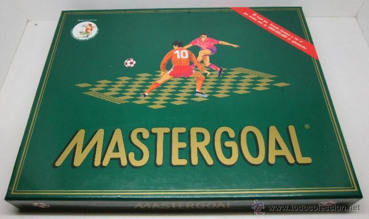 Juego Mesa Futbol Estrategia Mastergoal Comprar Juegos De Mesa