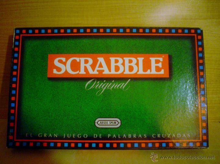 Scrabble Original Comprar Juegos De Mesa Antiguos En Todocoleccion