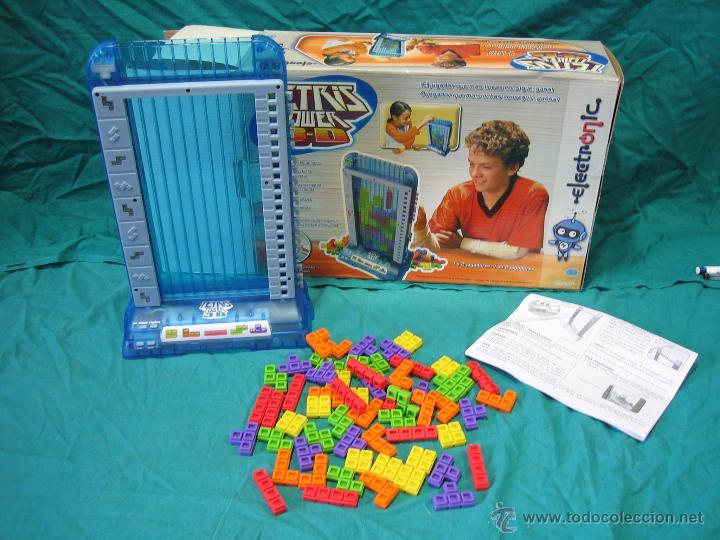 Juego De Mesa Tetris Tower 3 D De Famosa Comprar Juegos De Mesa