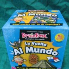 Juegos de mesa: JUEGO DE MESA LA VUELTA AL MUNDO DE BRAINBOX 2007. Lote 51124009