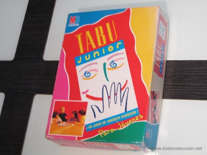 Tabu junior de mb hasbro 2000 comprar juegos de mesa for Juego de mesa tabu precio