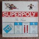 Juegos de mesa: ANTIGUO SUPERPOLY **DE LUXE**. **FALOMIR JUEGOS**. COMPLETO. Lote 51158739