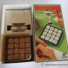 Juegos de mesa: JUEGO BOGGLE, DE BORRAS, PBP, EN CAJA. CC. Lote 51258424