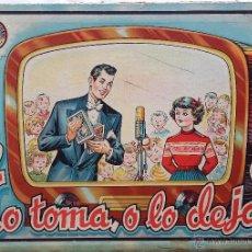 Juegos de mesa: LO TOMA O LO DEJA - JUGUETES BORRAS. Lote 51348374