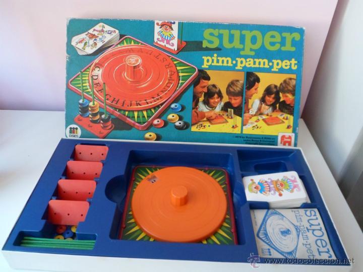 Antiguo Juego De Mesa Pim Pam Pet Hecho En Espa Comprar Juegos De