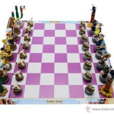 Juegos de mesa: LUCKY LUKE JUEGO DE AJEDREZ FIGURAS PVC LUCKY LUKE. Lote 51385526