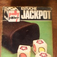 Juegos de mesa: ESTUCHE JACK-POT DE POLLY POKER. Lote 51421713