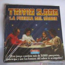 Juegos de mesa: JUEGO TRIVIO 3000, LA FUREZA DEL SABER, EN CAJA. CC. Lote 51432334