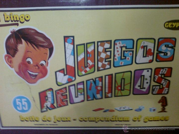 Juegos Reunidos Geyper 55 Comprar Juegos De Mesa Antiguos En