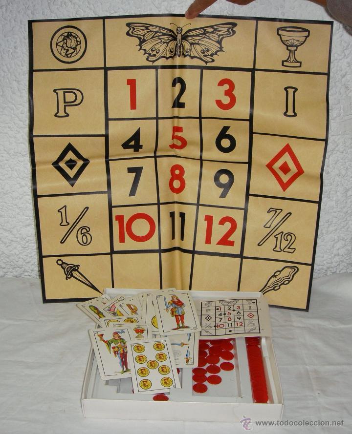 Juegos de mesa: Juego de la Mariposa. Ruleta con Naipes. Fournier - Foto 2 - 51529227