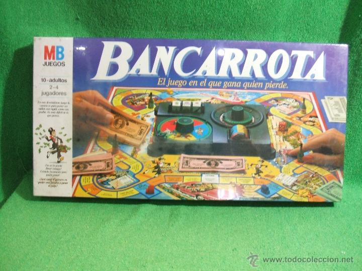 Juego Bancarrota Mb Anos 90 Comprar Juegos De Mesa Antiguos