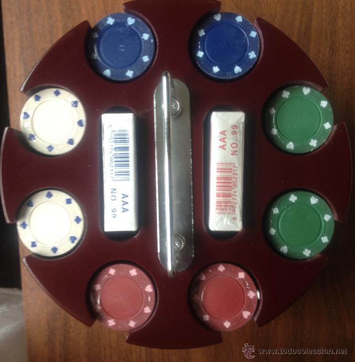 Juego Poker Con Fichas Y Dos Mazos De Cartas Comprar Juegos De