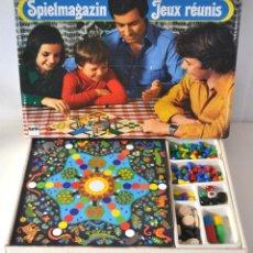 Juegos de mesa: * ANTIGUO JUEGOS REUNIDOS ALEMANES * SPIELMAGAZIN - JEUX REUNIS * ILUSTRACIONES ELVIRA VOMSTEIN *. Lote 51648711