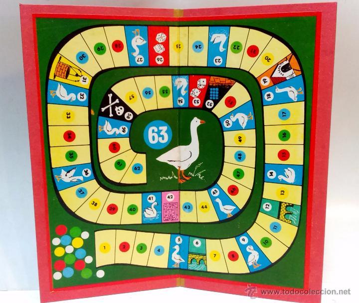 Juego de la oca completo juguetes borras n 6 comprar juegos de mesa antiguos en - La oca juego de mesa ...