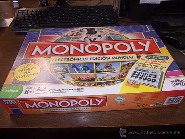 Monopoly Electronico Edicion Mundial Parker 2 Comprar Juegos De