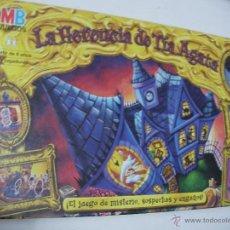 Juegos de mesa: ANTIGUO JUEGO LA HERENCIA DE TIA AGATA EN BUEN ESTADO. Lote 51695504