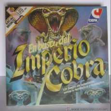 Juegos de mesa: JUEGO EN BUSCA DEL IMPERIO COBRA , DE CEFA, EN CAJA. CC. Lote 51702168
