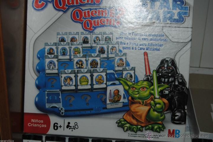 Juego De Mesa Quien Es Quien Version Star Wars Comprar Juegos De