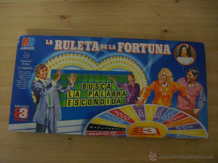 La Ruleta De La Fortuna Mb Juegos Juego De Mesa Comprar Juegos De