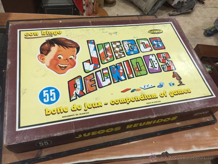 Juegos Reunidos Geyper 55 Practicamente Compl Comprar Juegos De