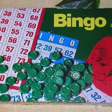 Juegos de mesa: BINGO JUEGO DE MESA DE BORRAS DÉCADA 80 REFERENCIA 2578 DIFÍCIL DE CONSEGUIR 25 CARTONES. Lote 51964017