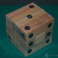 Juegos de mesa: JUEGO DE LÓGICA Y HABILIDAD DE MADERA. Lote 52096247