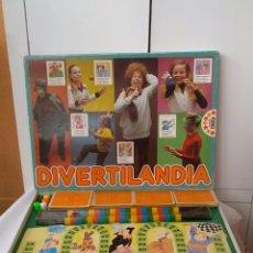 Juegos de mesa: ANTIGUO JUEGO DIVERTILANDIA DE EDUCA COMPLETO AÑOS 80. Lote 52144114
