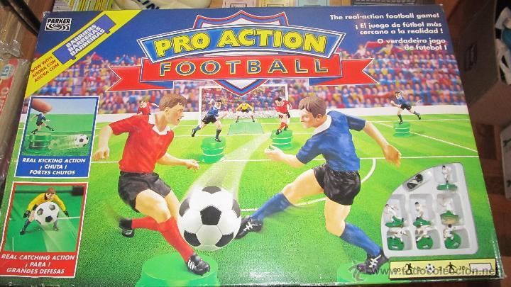 M69 Juego Pro Action Football Futbol De Parker Comprar Juegos De