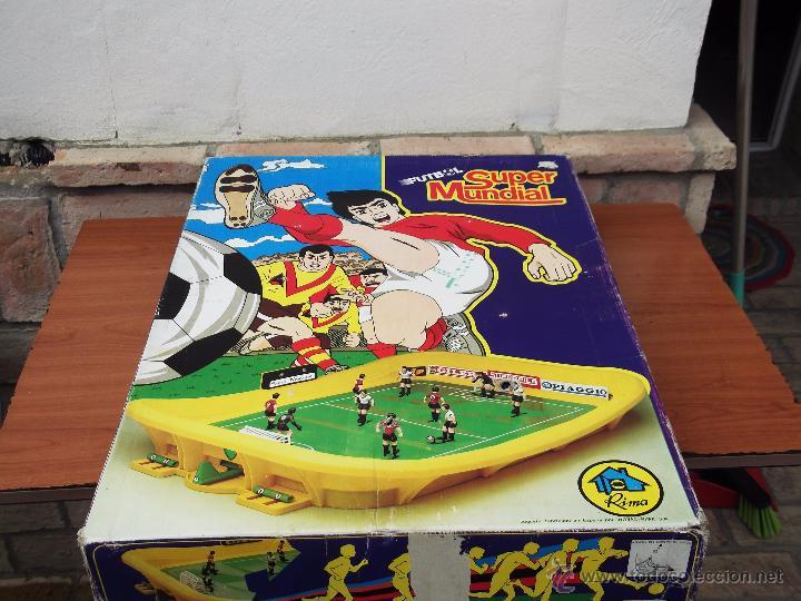 FUTBOLIN SUPER MUNDIAL DE RIMA (Juguetes - Juegos - Juegos de Mesa)