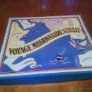 Juegos de mesa: ANTIGUO JUEGO VOYAGE NISSIONNAIRE AUTOR DU MONDE. AÑOS 70. Lote 57439703