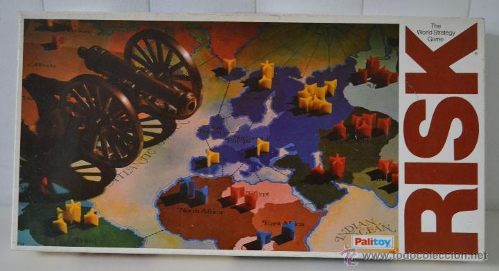 RISK PALITOY * MUY RARO * THE WORLD STRATEGY GAME * JUEGO DE MESA (Juguetes - Juegos - Juegos de Mesa)