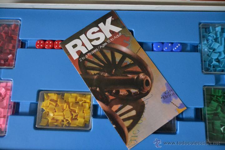 Juegos de mesa: RISK PALITOY * MUY RARO * THE WORLD STRATEGY GAME * JUEGO DE MESA - Foto 3 - 145487201