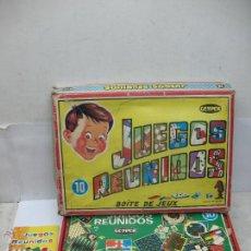 Juegos de mesa: GEYPER REF: 10 - JUEGOS REUNIDOS FABRICADO EN ESPAÑA. Lote 52499987